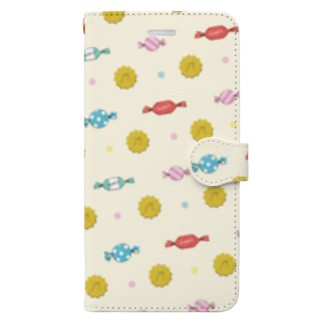 NONticのおやつタイム! Book-style smartphone case