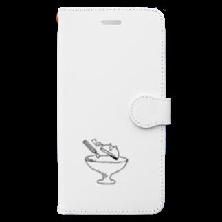 なるの青い光 Book-style smartphone case