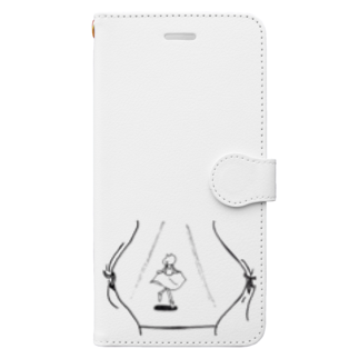 なるのマリオネットにスポットライト Book-style smartphone case