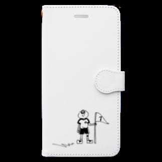 なるの天国と地獄 Book-style smartphone case
