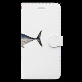AAAstarsの鰹 Book-style smartphone case