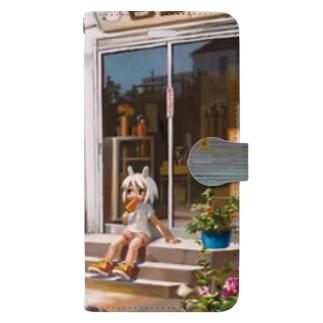 夏 Book-style smartphone case