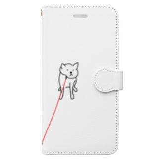 とおくでいやがるいぬ Book-style smartphone case