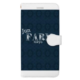 junfarmオリジナル Book-style smartphone case