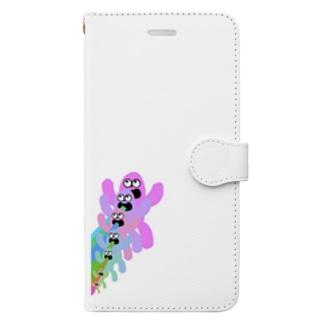 口からbeeeeeeeeeeeeeam Book-style smartphone case