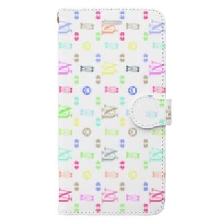 ウサ・ヴィトン Book-style smartphone case
