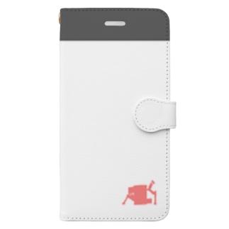 うさねこのスマホケース Book-style smartphone case