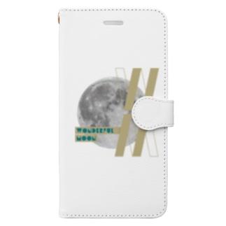 Wonderful MoonオリジナルiPhone手帳ケース Book-style smartphone case