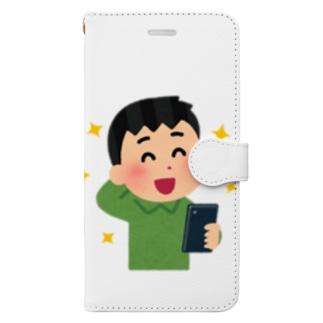 フリー画像くん Book-style smartphone case