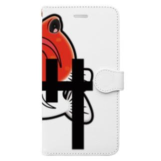 ジョー様の気持ち(オレンジver.) Book-style smartphone case