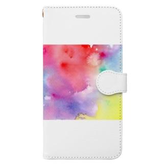 ジワジワ Book-style smartphone case