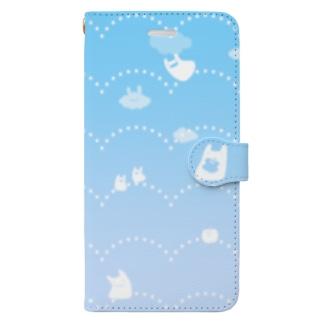 そらとぶうさぎ Book-style smartphone case