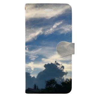 あの日の空 day01 Book-style smartphone case
