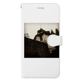 廃墟 Book-style smartphone case