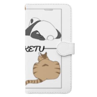 ぷりけつたち。 Book-style smartphone case