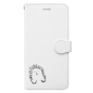 かなだやまあらし Book-style smartphone case
