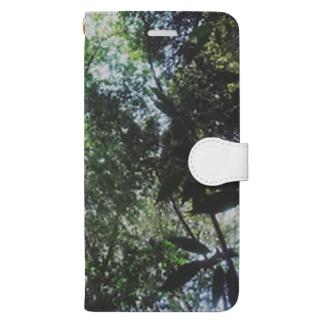 空を仰いで Book-style smartphone case