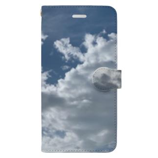お天気雨(画像拡大版) Book-style smartphone case