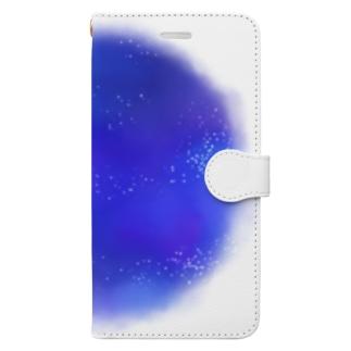 ライアンジーの小さな夜丸 Book-style smartphone case