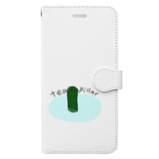 茶柱が立つ Book-style smartphone case