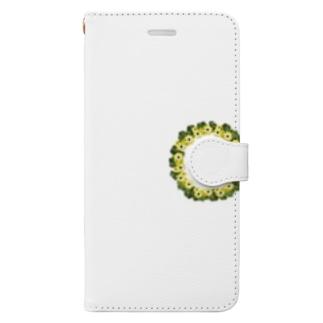 花輪 Book-style smartphone case