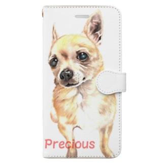 My Precious チワワ Book-style smartphone case