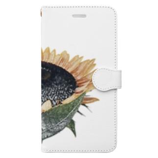ひまわり Book-style smartphone case