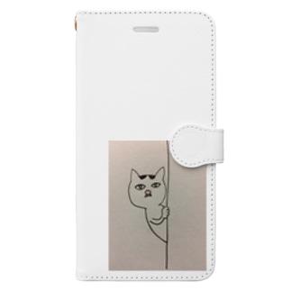 入月裕美子のマロはフレディマーキュリー似 Book-style smartphone case