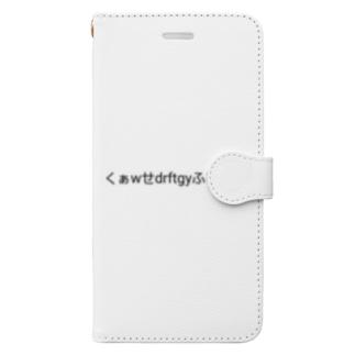 くぁw背drftgyふじこlp;@:「」 Book-style smartphone case
