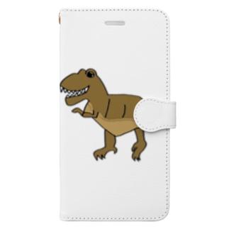 恐竜シリーズ~t.rex~ Book-style smartphone case
