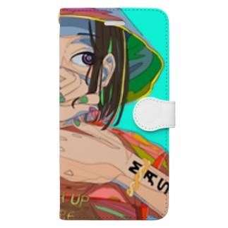 色 Book-style smartphone case