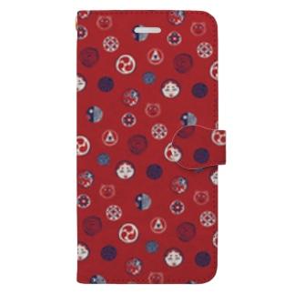【日本レトロ#24】おはじき Book-style smartphone case