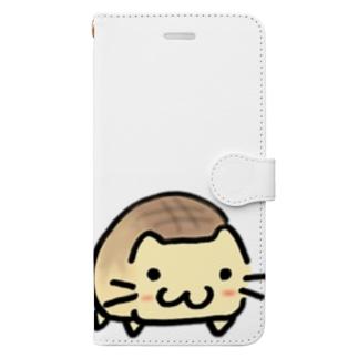 ネコぱん(メロンパン) Book-style smartphone case