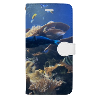 水族館 Book-style smartphone case