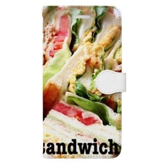 sandwich Book-style smartphone case