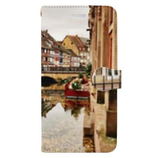 秋のコルマール Book-style smartphone case