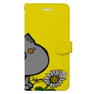 ねこやん① Book-style smartphone case