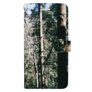 自然の中に Book-style smartphone case