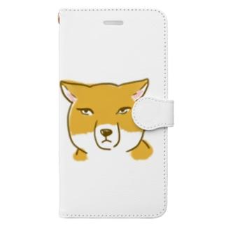 チベットスナギツネ Book-style smartphone case
