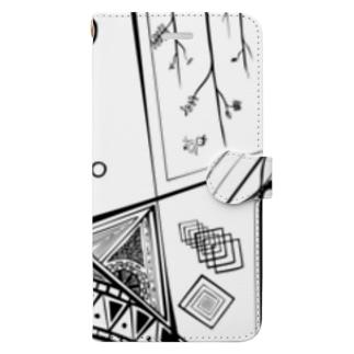 がちゃがちゃ Book-style smartphone case
