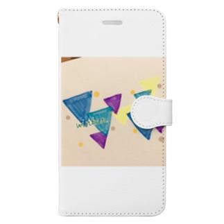 sankaku winter Book-style smartphone case
