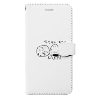 おにぎりKAJIRI Book-style smartphone case