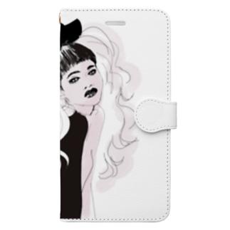 無敵りぼん Book-style smartphone case