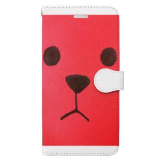 プップ Book-style smartphone case