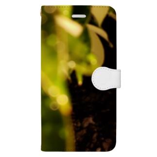 夜の葉 Book-style smartphone case