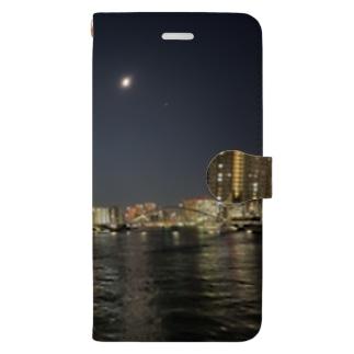TOKYO MOON(東京夜景) Book-style smartphone case