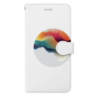 無敵球体オズマ Book-style smartphone case