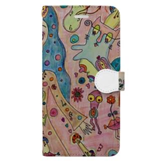kawaii Book-style smartphone case