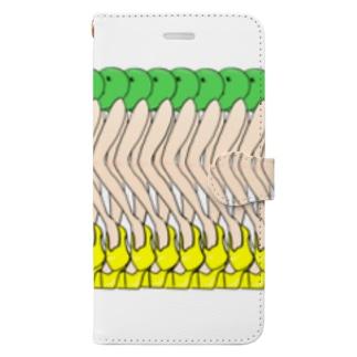 枝豆さん Book-style smartphone case