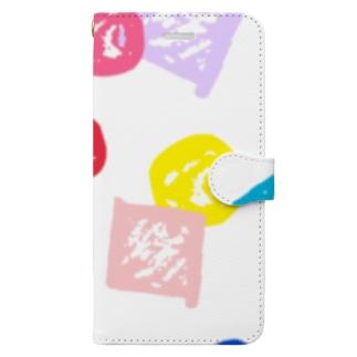 まるしかく Book-style smartphone case